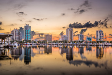 St. Petersburg, Florida, USA Fototapete