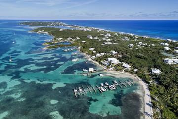 Elbow Cay Aerial