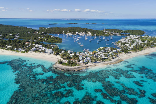 Hope Town, Beach and Lighthouse, Abaco