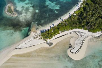 Tahiti Beach Aerial