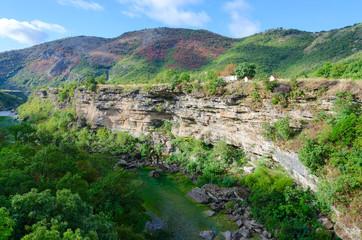 Canyon of river Moraca, mountain landscape, Montenegro