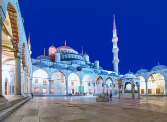 Foto auf Acrylglas Denkmal The Blue Mosque, (Sultanahmet Camii), Istanbul