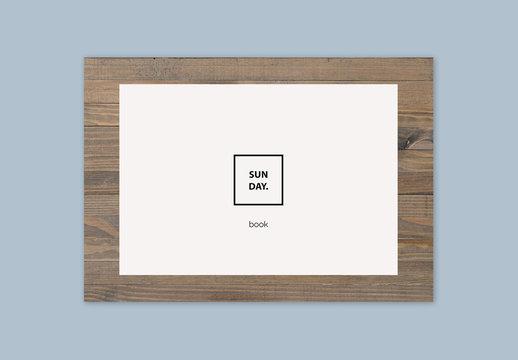 Diseño de book de Sunday