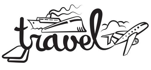 travel and cruise logo