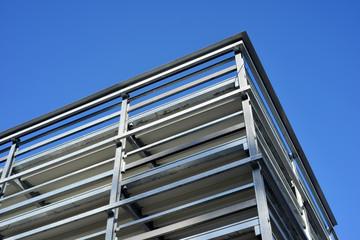 Rohbau Gebäude Konstrukt