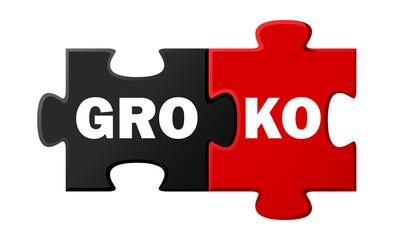 GroKo Puzzle Vertragsabschluss