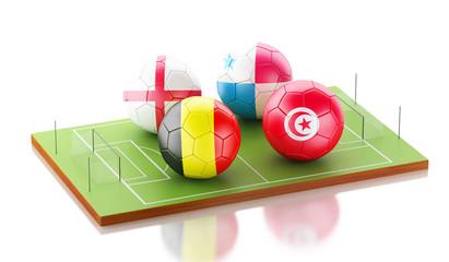 3d soccer world tournament Group G