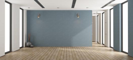 Empty minimalist interior Wall mural