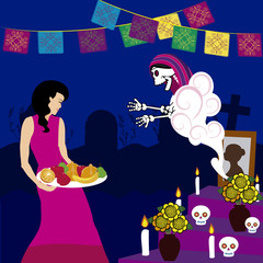 day of the dead altar de muertos 3