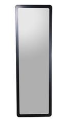 Modern mirror on white background