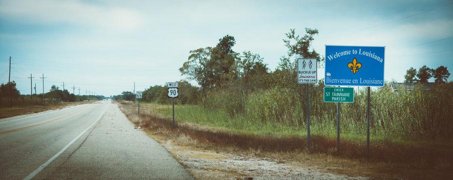 Louisiana Staatsgrenze