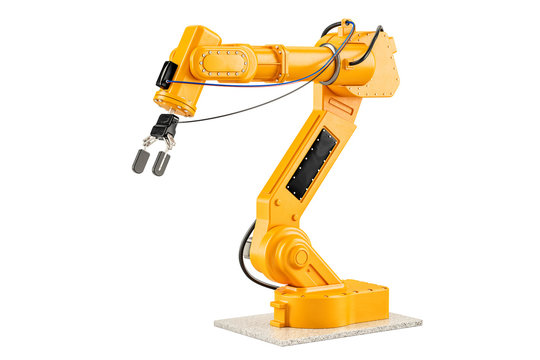 Robotic Arm, 3D rendering