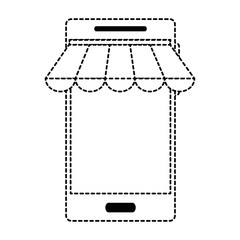 smartphone device with parasol