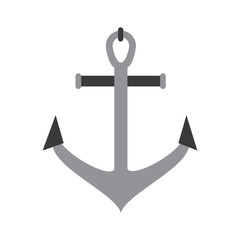 Anchor marine symbol icon vector illustration graphic design
