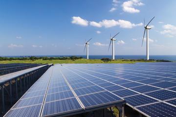 再生可能エネルギー イメージ Wall mural