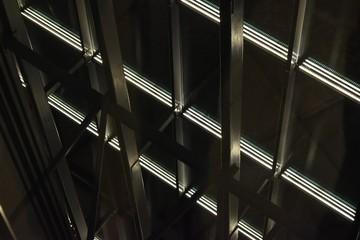 Metal constructions in dark lights
