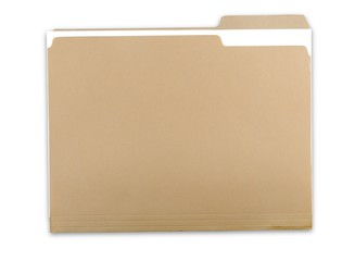 File Folder with Documents Wall mural