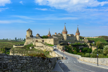 Kamianets-Podilskyi Castle is a former Ruthenian-Lithuanian castle and a later ..three-part Polish fortress located in the historic city of Kamianets-Podilskyi, ..Ukraine.