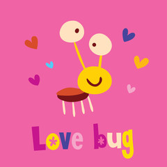 Love bug character
