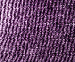 Jeans texture in purple color.