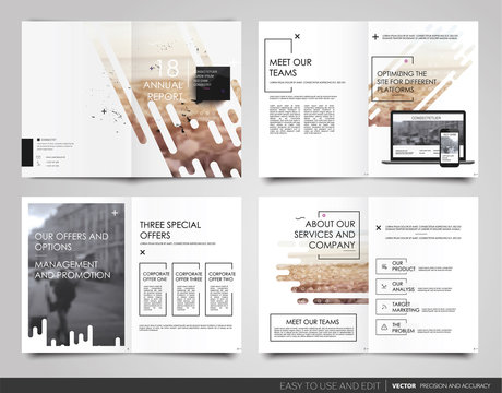 Poster flyer pamphlet brochure, portfolio, design annual report, vector template, leaflet, magazine a4 size. Minimalistic design background