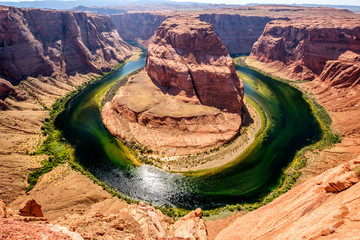 Horseshoe Bend on Colorado River