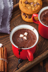 Homemade Hot Chocolate With Marshmallow