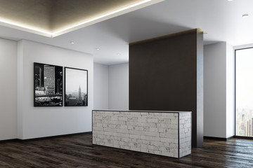 Contemporary office reception