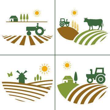 Logo agriculture biologique.