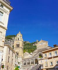 The Amalfi Cathedral in Amalfi Italy
