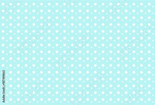 Seamless Boyish Pattern White Stars On Blue Background Backdrop For Invitation Card Wrapper