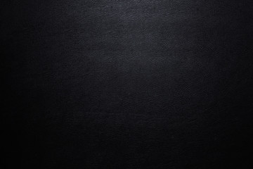 Close up Luxury black leather texture surface for background and space for your text.