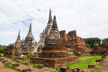 Wat Phra Si Sanphet Ayutthaya -   Ayutthaya Historical Park has been considered a World Heritage Site on December 13th, 2534 in the historic city of Ayutthaya.