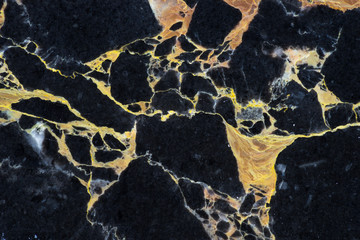 golden black marble with abstract pattern texture design