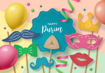 Purim holiday concept