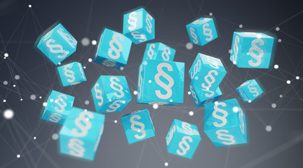 3D rendering law cubes