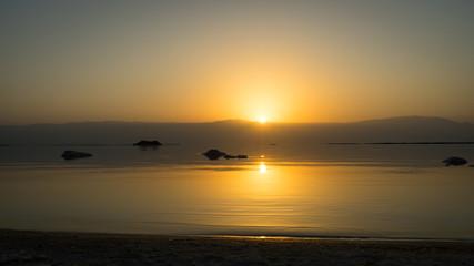 Sunrise on the Dead Sea - Israel