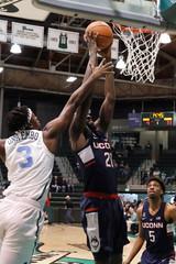 NCAA Basketball: Connecticut at Tulane