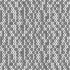 Sparkle seamless pattern with silver sequins