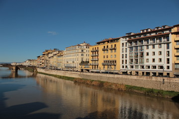 Florence seen from the old bridge