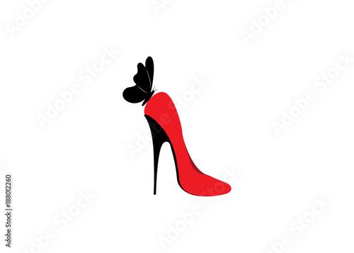 dc3809cdaba Logo shoe store, shop, fashion collection, boutique label. Company ...