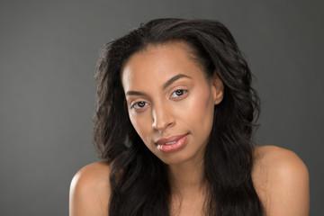 African American Female Fashion Model