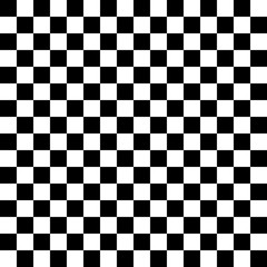 Black and white checkered background
