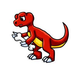 Sad Hungry T Rex