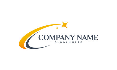 Luxury Star logo designs template, Elegant Star logo designs, Fast star logo designs concept