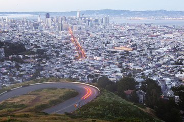 San Francisco from Twin Peaks.