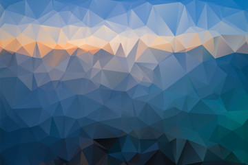 Vector background - simple geometric shapes