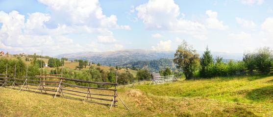 Carphatian landscape