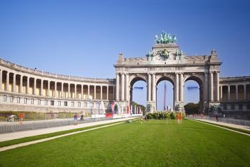Arc de Triomphe In Brussels, Belgium