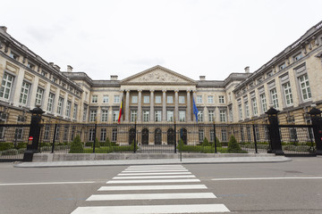 Belgian Parliament In Brussels